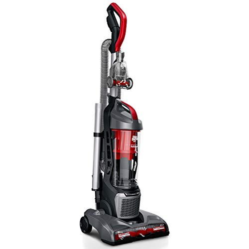 Dirt Devil Endura Max Upright Bagless Vacuum Cleaner for Carpet and Hard Floor, Powerful, Lightweight, Corded, UD70174B, Red