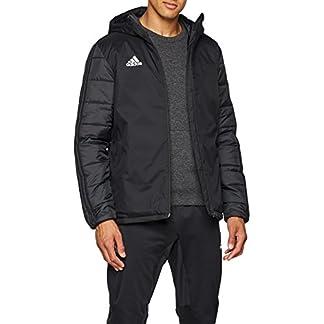 adidas Herren JKT18 WINT JKT Sport Jacket, Black/White, M 2