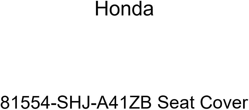 Genuine Honda 81554-SHJ-A41ZB Seat Cover