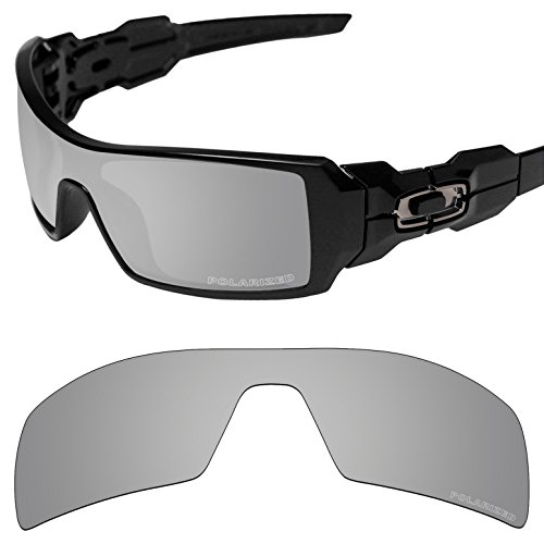 Tintart Performance Replacement Lenses for Oakley Oil Rig Sunglass Polarized - Oil Rig Polarized