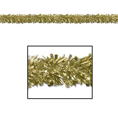 6-Ply FR Gleam 'N Fest Festooning Garland (gold) Party Accessory  (1 count)