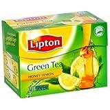 Lipton Honey Lemon Green Tea (Pack Of 2) 10 Tea Bags