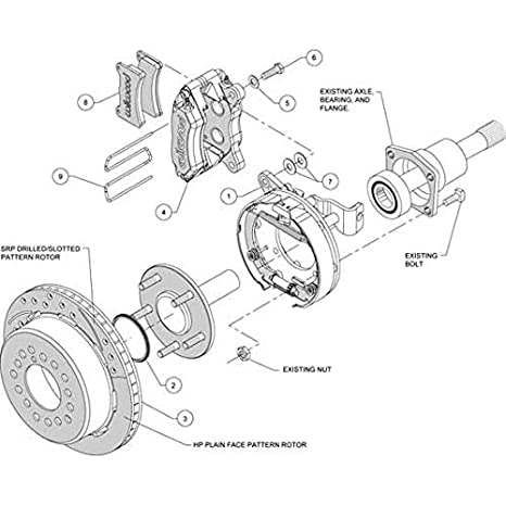 Amazon Com Wilwood 140 11398 Dr Brake Kit Automotive