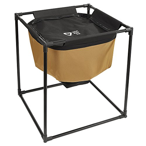 Composter Manure Compost (Urban Worm Bag Worm Composting Bin - Create and Harvest Worm Castings Quickly with a Breathable Vermicomposting Bin - Iron Frame Included - No Tools Required)