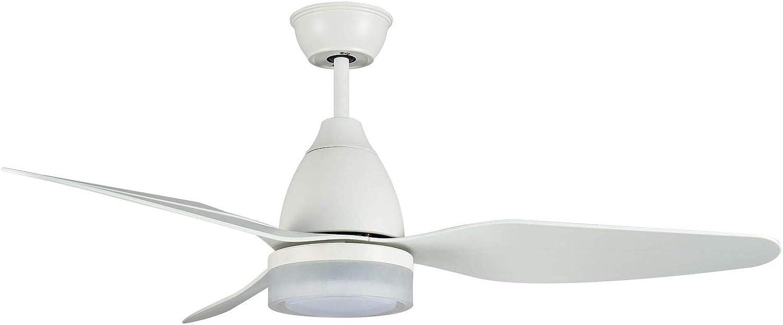 Ventilador de techo de bajo consumo con luz LED.: Amazon.es ...