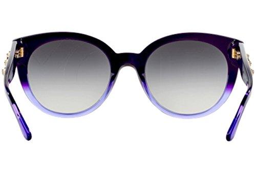 Violett 51498g purple La Soleil 51481356 De Medusa Versace Cateye À Chaîne Lunettes Havane Ve4294 PnRwO