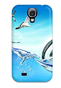 Galaxy S4 Case Cover With Shock Absorbent Protective WjTzVFX118cSzMv Case