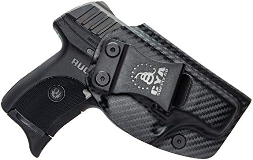 CYA Supply Co. IWB Holster Fits: Ruger LC9 / LC9s / Ruger LC380 / Ruger EC9s- Veteran Owned Company - Made in USA - Inside Waistband Concealed Carry Holster (Best Holster Ruger Lc9)