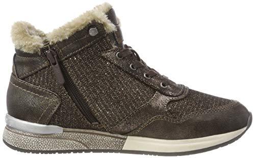 Femme Mustang 303 Eu Hautes mokka Top Marron 38 High Sneaker Baskets r7w7pX6q