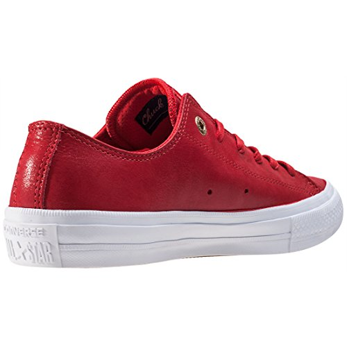 Converse Ledersneaker Chuck Taylor II CT AS II OX 555957C Rot