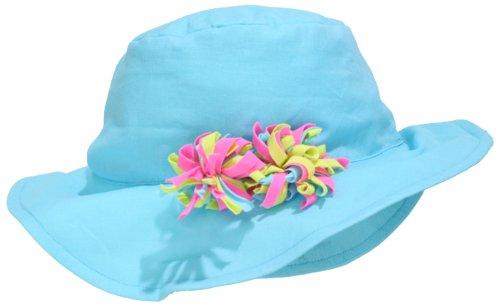 Kate Mack Baby Girls' Kaleidescope Hat, Aqua, ALL