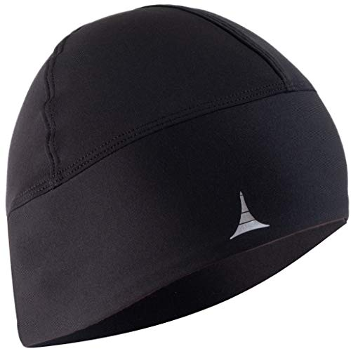 French Fitness Revolution Skull Cap/Helmet Liner/Running Beanie - Ultimate Thermal Retention and Performance Moisture Wicking. Fits Under Helmets