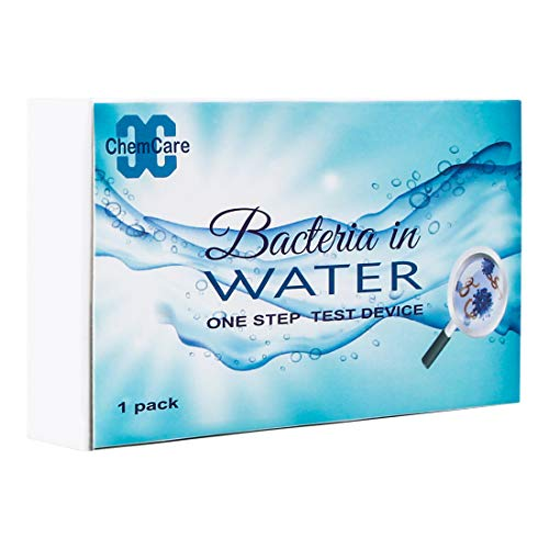 - ChemCare Home Bacteria Water Test Kit-Qualitative Test Result in 10 Minutes,Level of E.Coli Present in 1 Hour.(1 Pack)