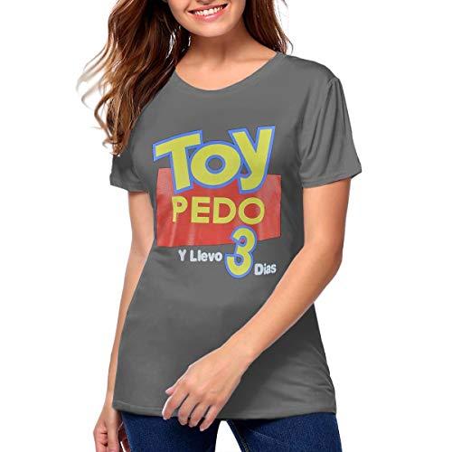 APFdkqdgadc Toy Pedo Y Llevo Tres Dias Charming T Shirts Womens Deep Heather -
