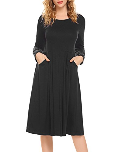long sleeve ankle length cocktail dresses - 6