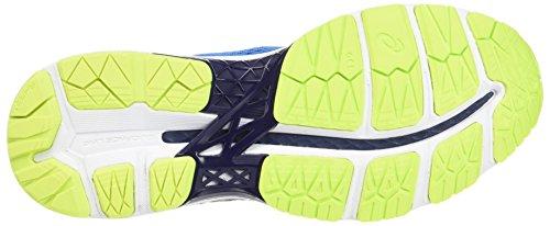 Asics Gel-Kayano 24 Gs, Zapatillas de Gimnasia Unisex Niños Azul (Directoire Blue / Peacoat / Safety Yellow)