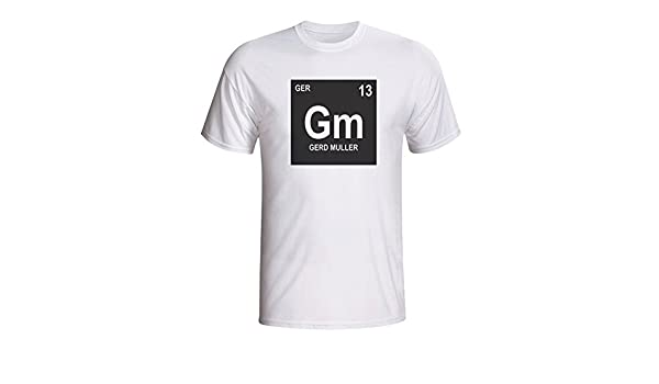 check out a7627 9dd9a Amazon.com : UKSoccershop Gerd Muller Germany Periodic Table ...