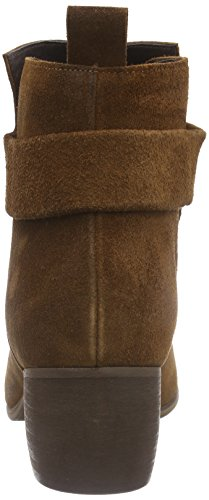 Suede Femme Ankle Classiques Boot Marron Bottes Waxed brown Mentor S8TqWAxTn