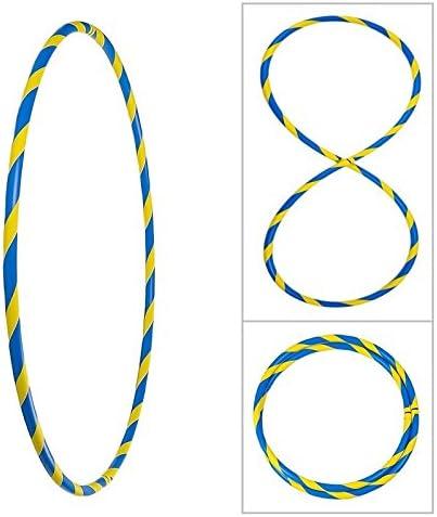 faltbar /Ø90//95//100cm Bunter Hula Hoop Reifen