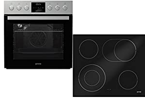 Gorenje Green Chili Set 4 Herd-Kochfeld-Kombination / 67 L /Einzigartige...