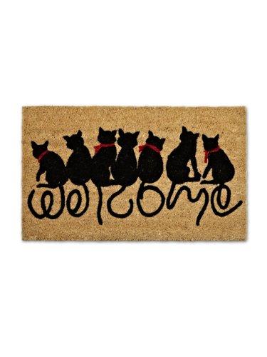 Abbott Cat TailWelcome Doormat 35-PFW/AN 1357