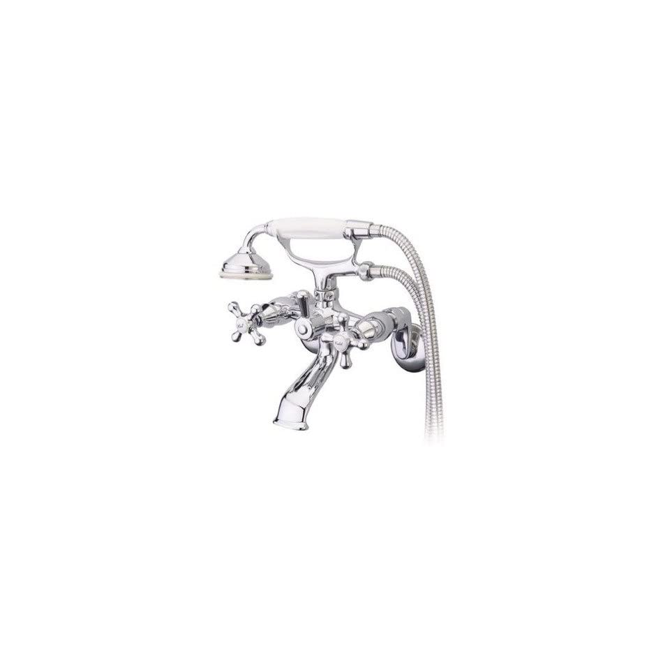 Elements of Design ES266 Charleston Wall Mount Tub/Shower Faucet with Hand Shower