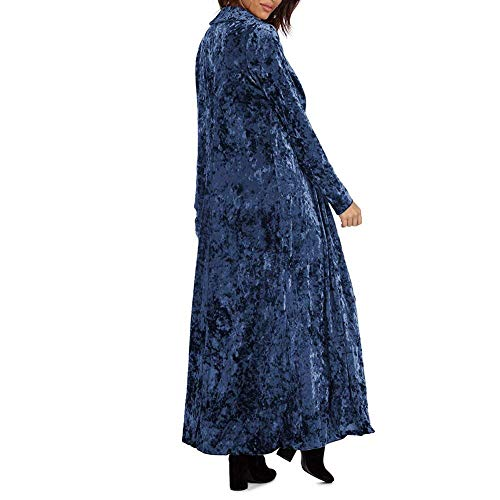 Automne Cardigan Velours Longues Hiver Femme Outerwear zUwq5AqRx