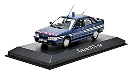 Norev 512116 1:43 Scale Renault 21 Turbo 1989 Gendarmerie Die Cast Model