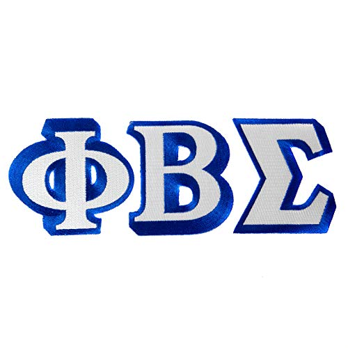 Phi Beta Sigma Fraternity 3-Letter Set 3