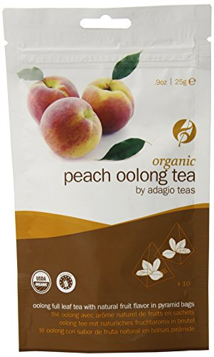Adagio Organic Peach Oolong Ounce