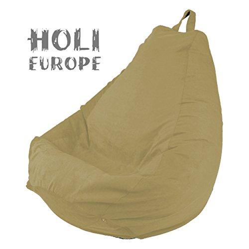 Holi-Europe-PREMIUM-Beanbag-Sitzsack-mit-Fllung-220L-ABWASCHBAR-mit-Innensack-Sitzkissen-Kissen-Bodenkissen