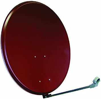 SATIX AR80 - Antena parabólica con brazo y soporte para LNB ...