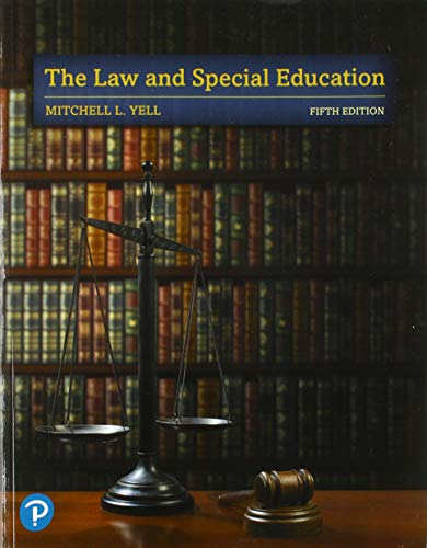 The Law and Special Education (5th Edition) (Special Education Law)