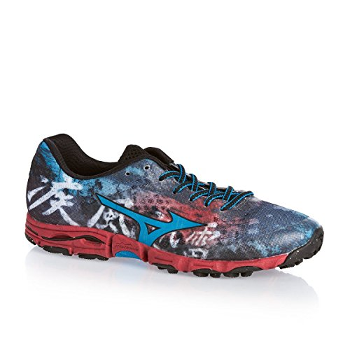 Grey Hayate Course Chaussure Mizuno Wave Trial qw0anqxXg