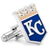 Men's Executive Cufflinks MLB Kansas City Royals Baseball Cuff Links