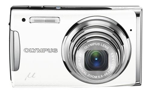 OLYMPUS デジタルカメラ μ1060 (ミュー) ホワイト μ1060 WHT
