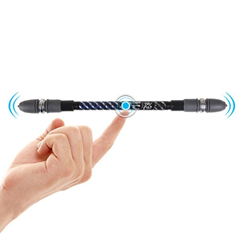 Ball Tornado Buckle - Huanada Non Slip Coated Spinning Ballpoint Pen Gaming Rolling Finger Rotating Playing