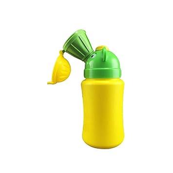amarillo asiento de entrenamiento para inodoro para ni/ños peque/ños Orinal port/átil para entrenamiento musical amarillo amarillo para ni/ños peque/ños