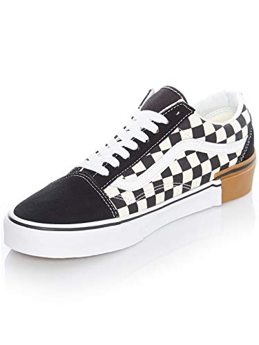Old Unisex Vans Adulto U Skool Cream Brown Zapatillas Black UqCgpx