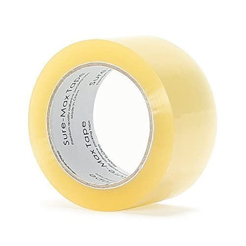 "A Grade Carton Packing Tape - Clear - Heavy Duty, 2.1 mil, 2"", 330', 110 yd, 4 Rolls for sale"