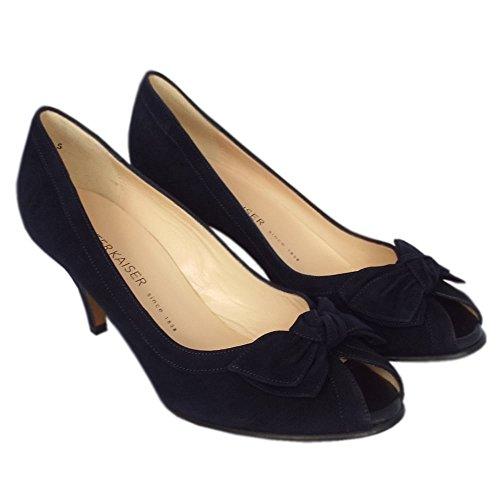 Notte En Chaussures Satyr Féminin Peter Kaiser Peep De Daim Orteil Habillées Suede qxUav1