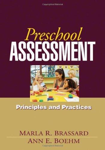 Download Preschool Assessment: Principles and Practices Pdf