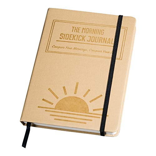 The Morning Sidekick Journal - Morning Habit Tracker! Create Your Perfect Morning Routine. A Science Driven Daily Planner for Building Positive Life Habits. (Beige)