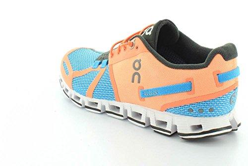 ON RUNNING Cloud Chaussures de course pour femme - Couleur: Horizon/Coral