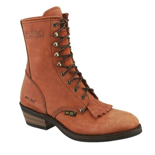 Ad Tec Men's Packer Boots, Tan, 12D ()