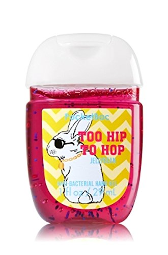 Bath & Body Works PocketBac Hand Gel Sanitizer Too Hip To Hop Jellybean (Bath And Body Cotton Candy)