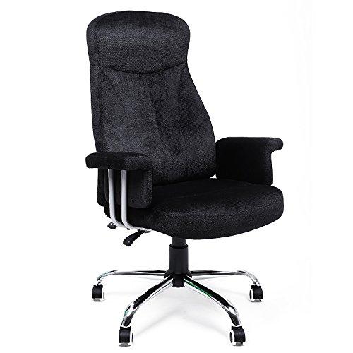 Songmics Bürostuhl mit verstellbarer Rückenlehne