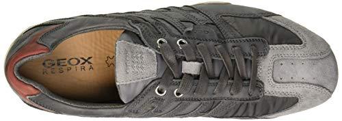 Snake A C1071 Ginnastica Scarpe Basse grey Da Uomo Grigio stone Geox 5qxEv17v