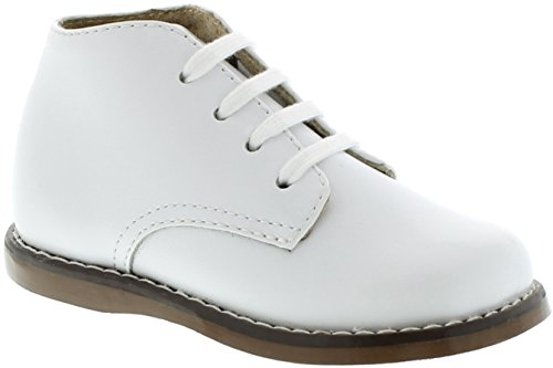 Pictures of FootMates Unisex Todd 3 (Infant/Toddler) White Oxford 3 Infant M/W 1