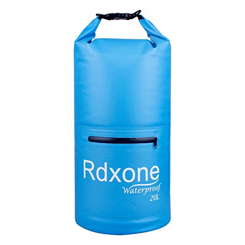 Waterproof Bag, Rdxone Dry Bag with Super Lightweight and Bigger Space, Perfect for Kayaking, Beach, Rafting, Boating, Hiking, Camping and Fishing, and Other Outdoor Activities (20L)